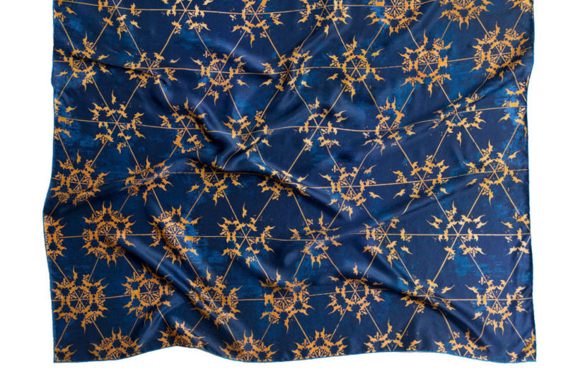 Arabesque Silk Scarf